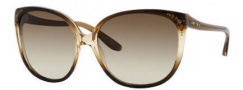 Jimmy Choo Charlotte/S Sunglasses Sunglasses - 0WSX Brown Shaded (JD Brown Gradient Lens)