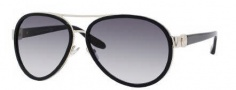 Jimmy Choo Chirs/S Sunglasses Sunglasses - 0RHP Black (JJ Gray Gradient Lens)