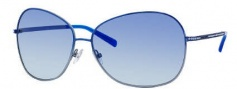 Jimmy Choo Crocus/S Sunglasses Sunglasses - 0AGG Azure Shaded (FV Azure Aqua Lens)