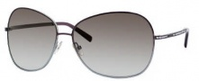 Jimmy Choo Crocus/S Sunglasses Sunglasses - 0AGD Brown / Green (5M Gray Gradient Aqua Lens)