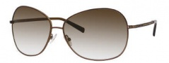 Jimmy Choo Crocus/S Sunglasses Sunglasses - 0AGF Shaded Brown (02 Brown Gradient Lens)