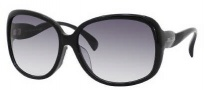 Jimmy Choo Dahlia/F/S Sunglasses Sunglasses - 0807 Black (JJ Gray Gradient Lens)