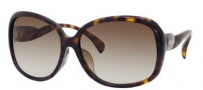 Jimmy Choo Dahlia/F/S Sunglasses Sunglasses - 0086 Dark Havana (CC Brown Gradient Lens)