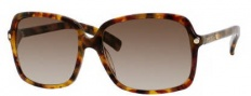 Jimmy Choo Eddie/S Sunglasses Sunglasses - 0YHA Havana (CC Brown Gradient Lens)