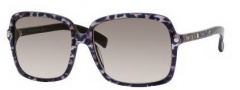 Jimmy Choo Eddie/S Sunglasses Sunglasses - 0ZS7 Leopard (BI Gray Rose Gray Lens)