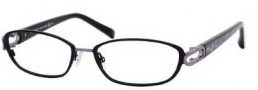 Jimmy Choo 40 Eyeglasses Eyeglasses - 0AXP Black / Dark Ruthenium
