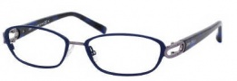 Jimmy Choo 40 Eyeglasses Eyeglasses - 0AXM Blue Havana Ruthenium