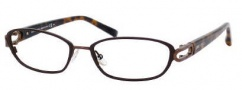 Jimmy Choo 40 Eyeglasses Eyeglasses - 0AXN Brown / Dark Brown