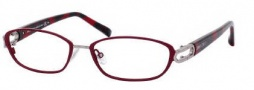 Jimmy Choo 40 Eyeglasses Eyeglasses - 0AXR Burgundy / Ruthenium