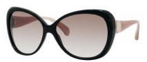 Jimmy Choo Julie/S Sunglasses Sunglasses - 0WUP Black (S8 Brown Gradient Lens)