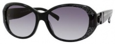 Jimmy Choo Kai/S Sunglasses Sunglasses - 0YHO Black Glitter / Black (JJ Gray Gradient Lens)