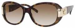 Jimmy Choo Kai/S Sunglasses Sunglasses - 0YlA Havana Glitter (02 Brown Gradient Lens)