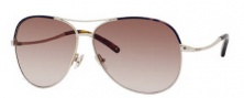Jimmy Choo Mali/S Sunglasses Sunglasses - 03YG Light Gold (YY Brown Gradient Lens)
