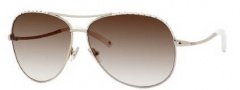 Jimmy Choo Mali/S Sunglasses Sunglasses - 0Y0D Platinum (02 Brown Gradient Lens)