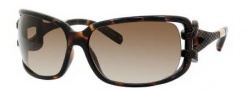 Jimmy Choo Mini JJ/S Sunglasses Sunglasses - 0NSK Dark Havana (CC Brown Gradient Lens)