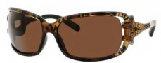 Jimmy Choo Mini JJ/S Sunglasses Sunglasses - 0Z0E Tiger (9W Dark Brown Lens)