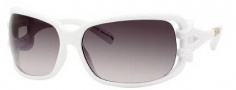 Jimmy Choo Mini JJ/S Sunglasses Sunglasses - 0VK6 White (BI Gray Rose Gray Lens)