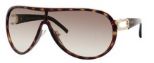 Jimmy Choo Protea/S Sunglasses Sunglasses - 0AK7 Havana / Gold (CC Brown Gradient Lens)