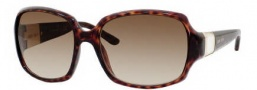 Jimmy Choo Saki/S Sunglasses Sunglasses - 0NSK Dark Havana (CC Brown Gradient Lens)