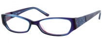 Guess GU 2228 Eyeglasses Eyeglasses - PURBL: Purple / Blue Crystal
