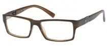 Guess GU 1702 Eyeglasses Eyeglasses - BRN: Brown Khaki Horn