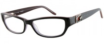 Guess GU 2243 Eyeglasses Eyeglasses - BLK: Black Over Red