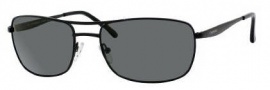 Chesterfield Laid Back/S Sunglasses Sunglasses - 91TP Semi Shiny Black (RC Green Polarized Lens)