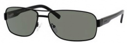 Chesterfield Pioneer/S Sunglasses Sunglasses - 91TP Matte Black (RC Green Polarized Lens)