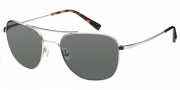 Modo Alberto Sunglasses Sunglasses - Silver / Mineral Glass Polarized Lens
