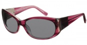 Modo Francesca Sunglasses Sunglasses - Purple Lines / Polarized Lens