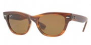 Ray-Ban RB4169 Sunglasses Sunglasses - 820 Striped Havana / Crystal Brown