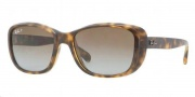 Ray-Ban RB4174 Sunglasses Sunglasses - 710/M2 Shiny Havana / Crystal Polarized Brown Gradient