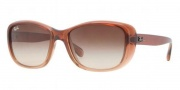 Ray-Ban RB4174 Sunglasses Sunglasses - 857/51 Brown Gradient On Light Brown / Crystal Brown Gradient