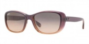 Ray-Ban RB4174 Sunglasses Sunglasses - 861/N1 Violet Gradient On Light Crystal / Gray Gradient Pink