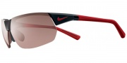 Nike Victory EV0556 Sunglasses Sunglasses - 060 (AF) Black Full Red / Max Speed Tint / Grey Lens