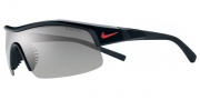 Nike Show X1 EV0618 Sunglasses Sunglasses - EV0617-001 Black / Grey / Orange Blaze Lens