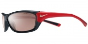 Nike Veer EV0557 Sunglasses Sunglasses - EV0558-061 Matte Dark Shadow / Sport Red / Max Speed Tint / Grey Lens