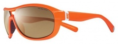 Nike Miler EV0613 Sunglasses Sunglasses - EV0613-802 Bright Mandarin / Brown Lens