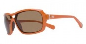 Nike Racer EV0615 Sunglasses Sunglasses - EV0615-802 Bright Mandarin / Brown Lens