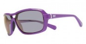 Nike Racer EV0615 Sunglasses Sunglasses - EV0615-505 Bright Violet / Grey Violet Flash Lens