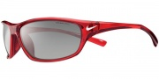 Nike Rabid EV0604 Sunglasses Sunglasses - EV0603-607 Red Crystal / Grey Silver Flash Lens