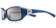 Nike Siren EV0580 Sunglasses Sunglasses - EV0580-402 Crystal Fade Blue / Grey Lens