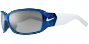 Nike Ignite EV0575 Sunglasses Sunglasses - EV0575-401 Sapphire Blue / White Gray / Superblue Lens