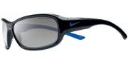 Nike Defiant EV0531 Sunglasses Sunglasses - EV0531-002 Black / Sapphire Blue / Grey Lens