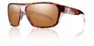 Smith Chief Sunglasses Sunglasses - Copper Plaid / Polarchromic Copper Mirror
