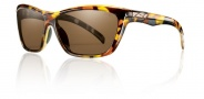 Smith Aura Sunglasses Sunglasses - Vintage Tortoise / Polarized Brown