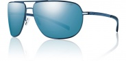 Smith Lineup Sunglasses Sunglasses - Matte Blue / Polarized Blue Mirror