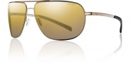 Smith Lineup Sunglasses Sunglasses - Matte Gold / Polarized Gold Gradient Mirror