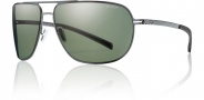 Smith Lineup Sunglasses Sunglasses - Matte Gunmetal / Polarized Gray Green