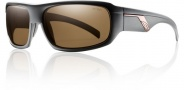 Smith Tactic Sunglasses Sunglasses - Matte Black / Polarized Brown